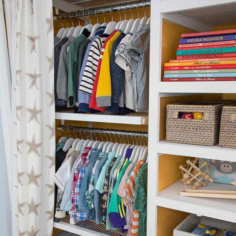 Start By Assessing The Situation: Has Your Childu0027s Closet Become A Storage  For A Multitude Of Other Things? If So, Make A Decision On What Really  Needs To ...