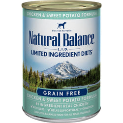 Natural Balance L.I.D. Limited Ingredient Diets Chicken and Sweet Potato Formula Canned Dog Food image