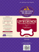 Old Mother Hubbard Crunchy Classic Natural LivRCrunch Mini Biscuits Dog Treats