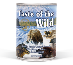 Taste Of The Wild Pacific Stream Canned Dog Food image