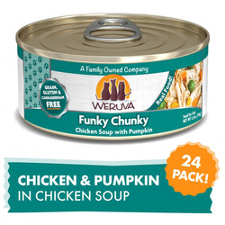 Weruva Funky Chunky Canned Cat Food image