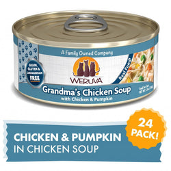 Weruva Grain Free Grandma's Chicken Soup With Chicken & Pumpkin Canned Cat Food image