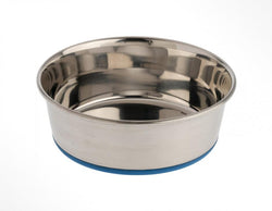 OurPets Premium Rubber-Bonded Stainless Steel Bowl image