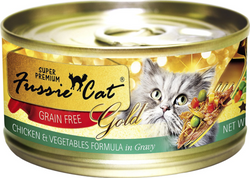 Fussie Cat Super Premium Chicken & Vegetables in Gravy Canned Food image