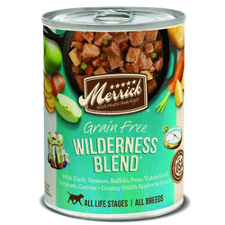 Merrick Grain Free Wilderness Blend Canned Dog Food image