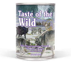 Taste Of The Wild Sierra Mountain Canine Canned Dog Food image