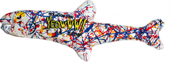 Yeowww! Pollock Fish Catnip Cat Toy image
