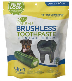 Ark Naturals Brushless Toothpaste Large Dog Treats image