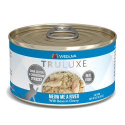 Weruva TRULUXE Meow Me A River with Base in Gravy Canned Cat Food image