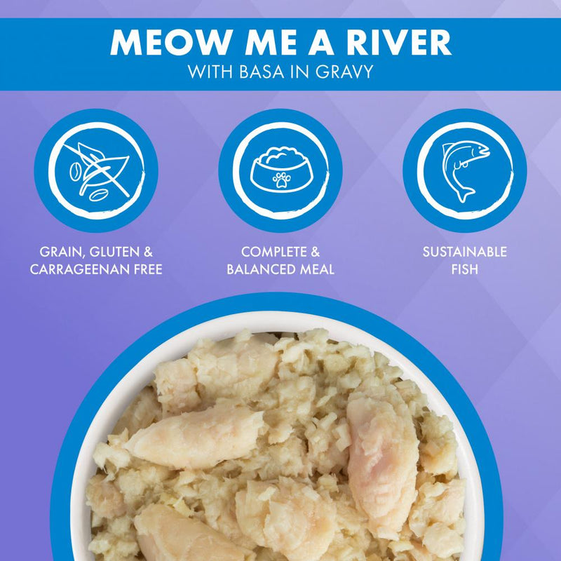 Weruva TRULUXE Meow Me A River with Base in Gravy Canned Cat Food
