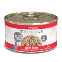 Weruva TRULUXE Peking Ducken with Chicken and Duck in Gravy Canned Cat Food image