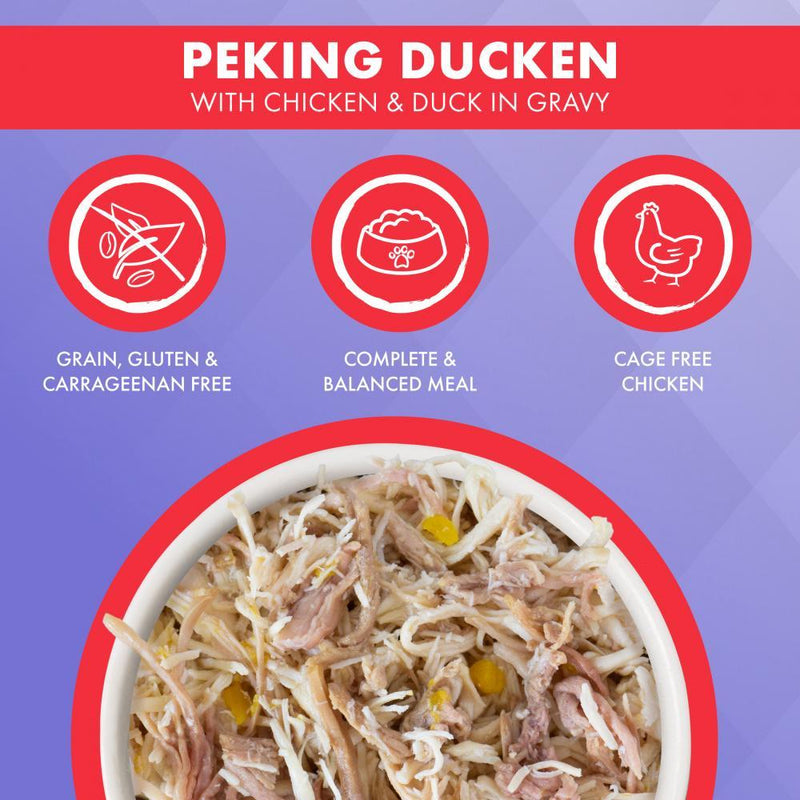 Weruva TRULUXE Peking Ducken with Chicken and Duck in Gravy Canned Cat Food