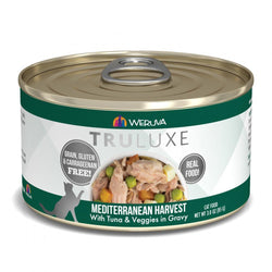 Weruva TRULUXE Mediterranean Harvest with Tuna & Veggies in Gravy Canned Cat Food image