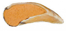Redbarn Peanut Butter Filled Hooves Dog Treats image