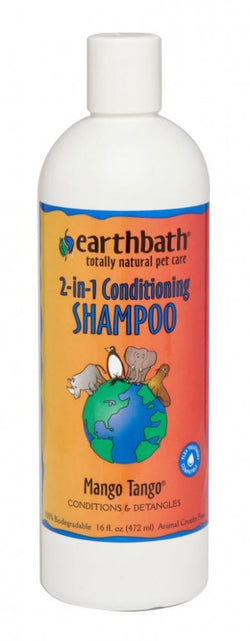 Earthbath 2-in-1 Mango Tango Conditioning Shampoo for Dogs and Cats image