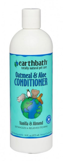 Earthbath Oatmeal and Aloe Conditioner for Dogs and Cats image