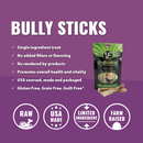 Vital Essentials Freeze Dried Vital Treats Grain Free Bully Sticks Dog Treats