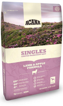 ACANA Singles Limited Ingredient Diet Lamb and Apple Formula  Grain Free Dry Dog Food image