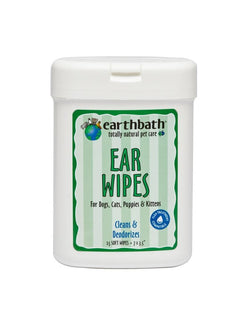 Earthbath Ear Wipes for Dogs and Cats image