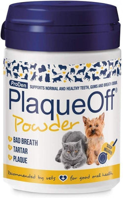 Proden PlaqueOff Dental Powder Supplement for Dogs & Cats image