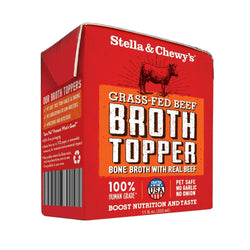 Stella & Chewy's Grass Fed Beef Broth Food Topper for Dogs image