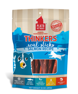 Plato Thinkers Salmon Meat Stick Dog Treats image