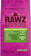 Rawz Dehydrated Chicken, Turkey & Chicken Recipe Cat Food
