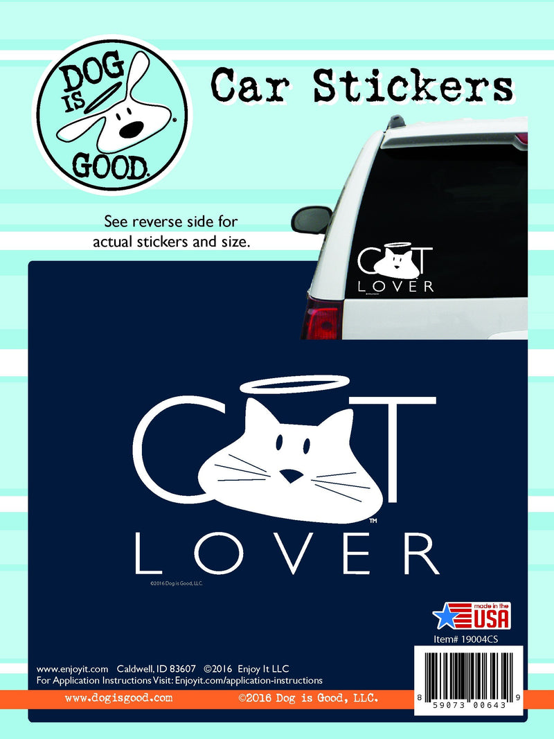 Enjoy it! Cat lover car sticker