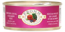 Fromm Four Star Chicken, Duck & Salmon Pate Can image