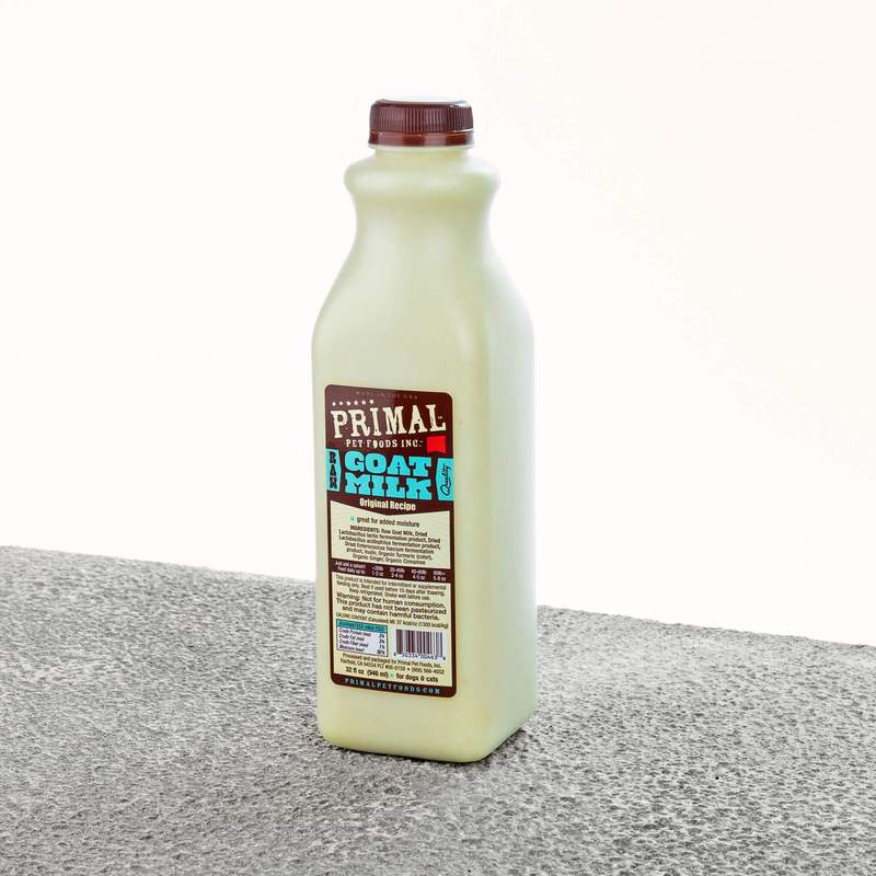 Copy of Primal Raw Frozen Goat Milk 16oz
