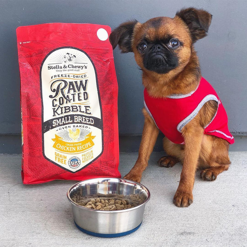 Stella & Chewy's Cage-Free Chicken Raw Coated Kibble for Small Breeds