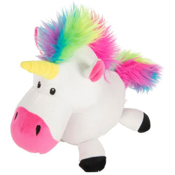 GODOG UNICORNS DURABLE PLUSH DOG TOY image
