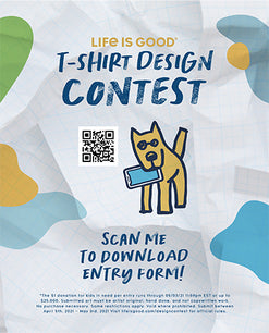 2021 Life is Good T-Shirt Design Contest