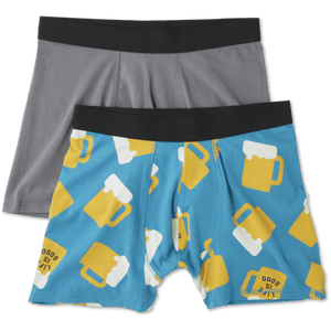 Men's Boxer Brief Se LIG Beer - Jake by the Lake-Life is good