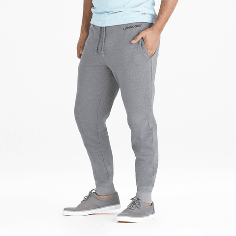 Men's Simply True Joggger Life is Good® DkHtGr - Jake by the Lake-Life is good