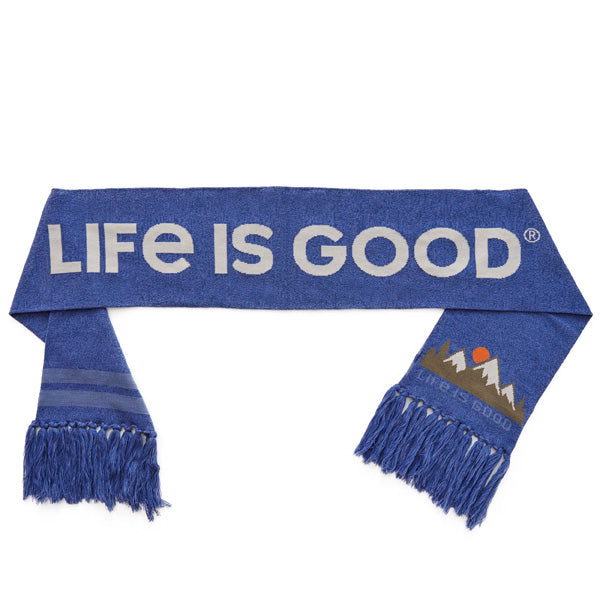 Reversible Life Mountain Scenic HtDkBl - Jake by the Lake-Life is good
