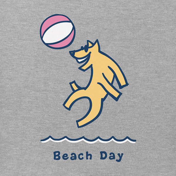 Women's Vintage Crusher Tee- Beach Day Rocket
