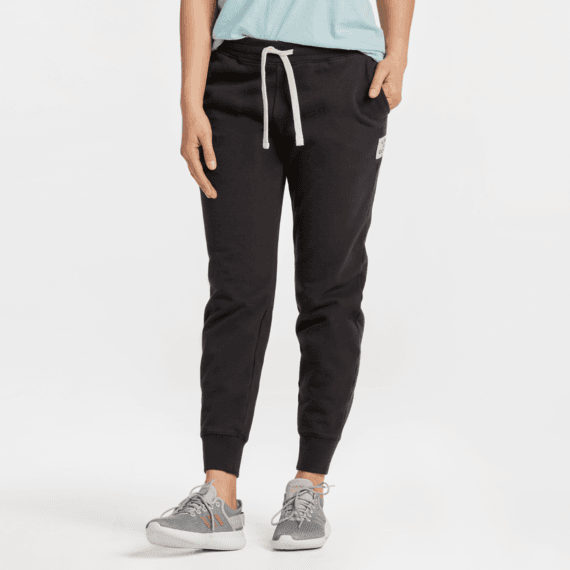 Women's Simply True Jogger Jet Black