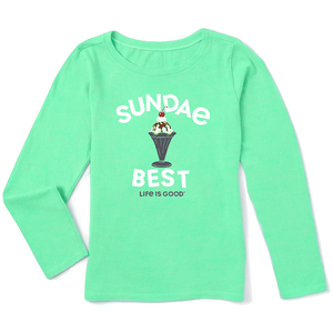 New Kids Long Sleeve Crusher Tee Sundae Best