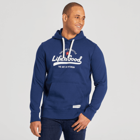 Men's  Fleece Pully Positive Lifestyle DBL