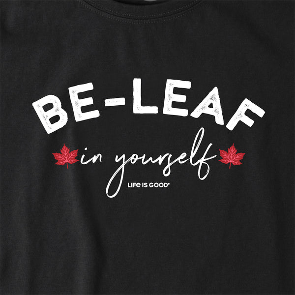 Women's Crusher Tee- Be-Leaf FUNDRAISING TEE