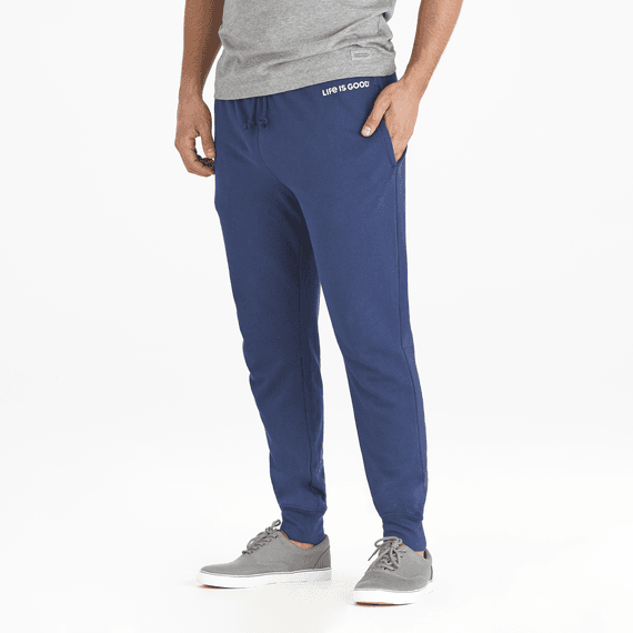 Men's Simply True Jogger Life is Good® DstBlu - Jake by the Lake-Life is good
