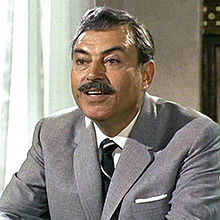 "Pedro Armendáriz portraying the Istanbul MI6 station chief in ""From Russia with Love."""