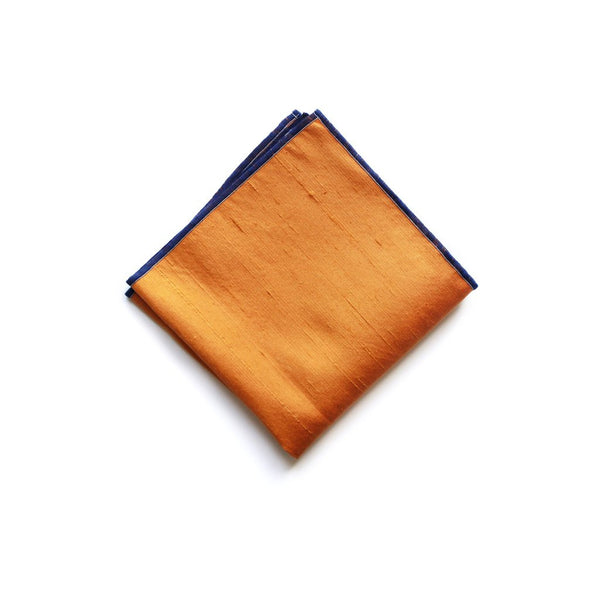 Handcrafted Ame Silk Pocket Square