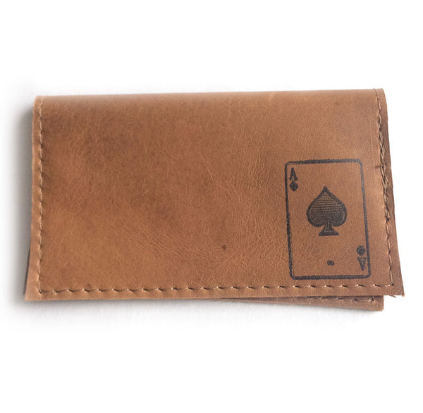 Aces-High Slim Leather Wallet