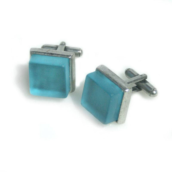 Cufflinks - Handcrafted Bombay Pewter Cufflinks