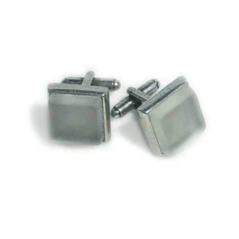 Cufflinks - Handcrafted Bourbon Pewter Cufflinks
