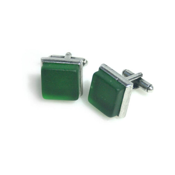 Cufflinks - Handcrafted Jameson Whiskey Pewter Cufflinks