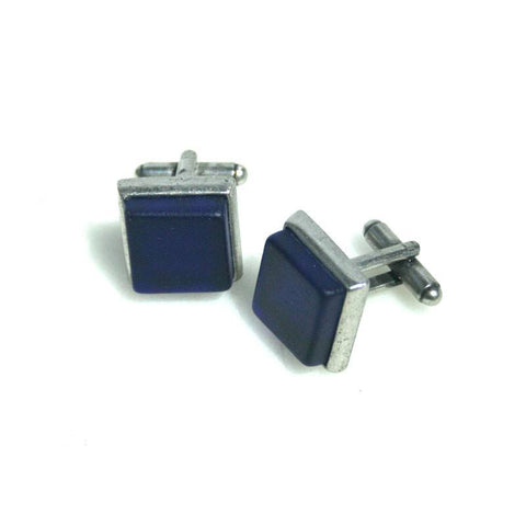 Cufflinks - Handcrafted Sky Pewter Cufflinks