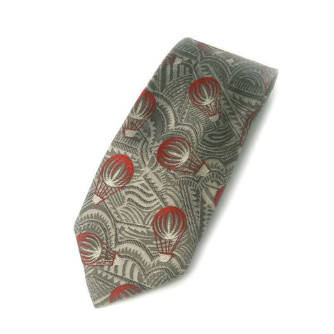 Necktie - Hot-air Balloon Silk Necktie